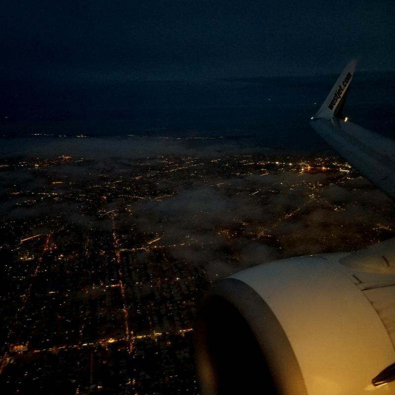 Pittsburgh Airport Landing