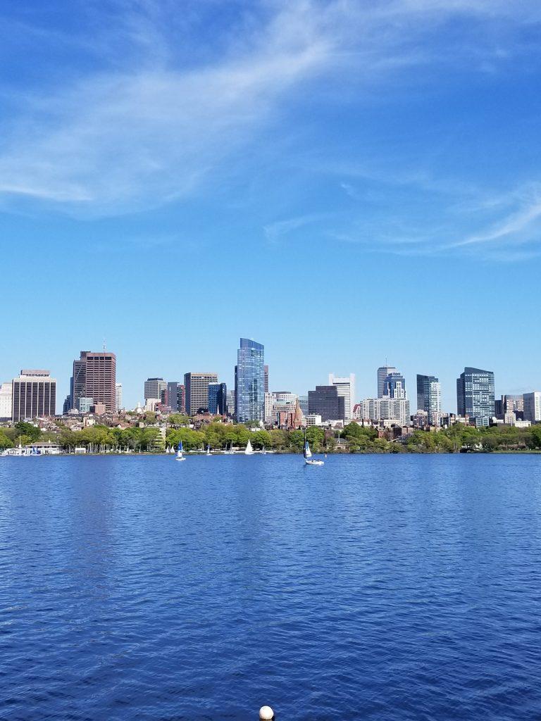 Boston Skyline - Moving to Boston - Simply Nel Belle Blog