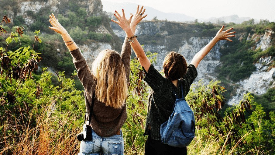 Two girls standing in a scenic area - Simply Nel Belle Blog - Have you ever been dumped? Learn 7 things to remember when you get dumped.