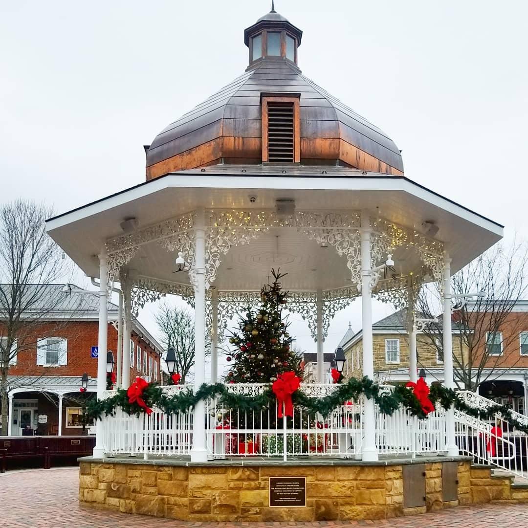 Ligonier, Pennsylvania, small town, gazebo - simply nel belle blog