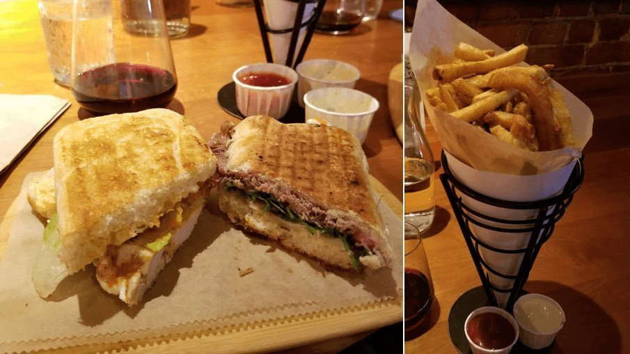 Panini from Duckfat in Portland, Maine - Simply Nel Belle Blog