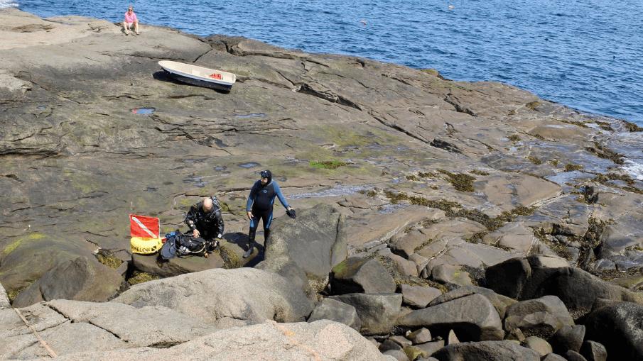Scuba Divers - York, Maine - Nubble Lighthouse - Simply Nel Belle Blog