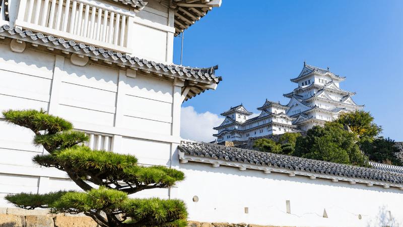 Post-Pandemic Travel Destinations- Himeji, Japan - Historic White Castle