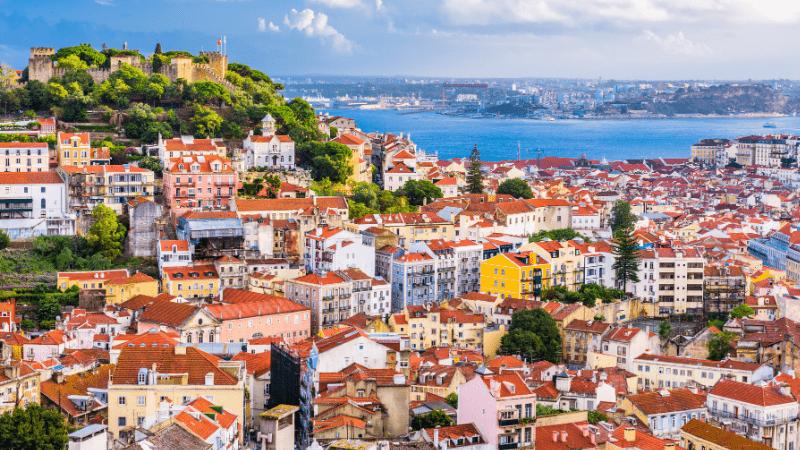 Post-Pandemic Travel Destinations - Lisbon, Portugal - Cityscape