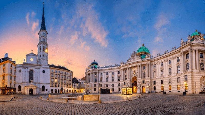 Vienna, Austria - View of the Square