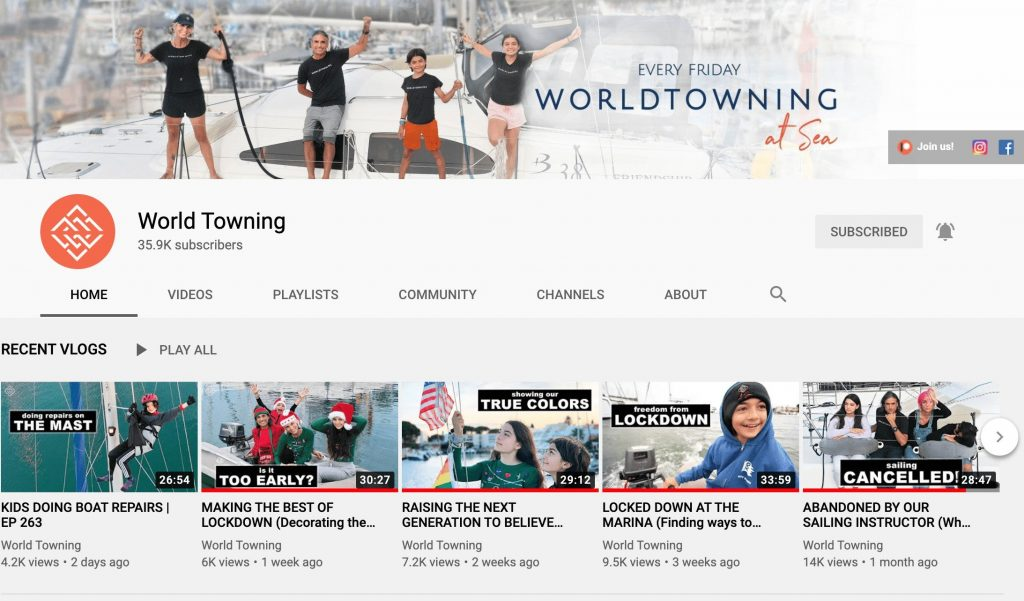 World Towning YouTube Channel