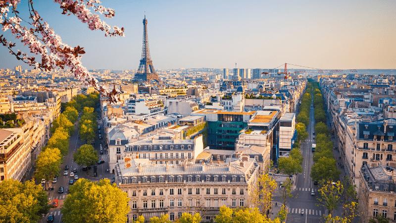 Post-Pandemic Travel Destinations - Paris, France - Cityscape Image