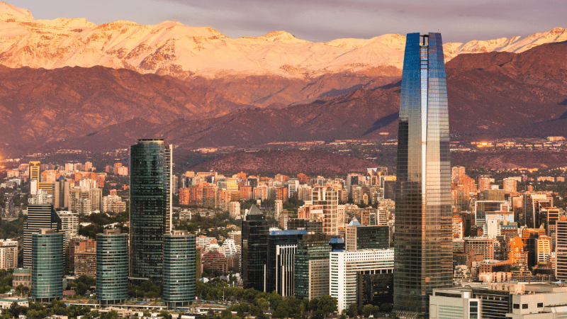 Santiago, Chile - Cityscape