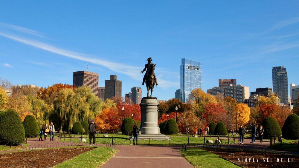 Boston Common - Simply Nel Belle Blog