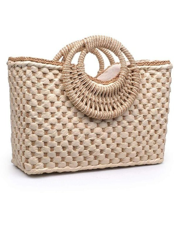 Mother's Day Gift Ideas, Lit Boutique, Woven Tote Bag