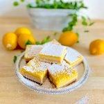 Best Lemon Bars Recipe, Easy Lemon Bars Recipe, Gluten-Free Lemon Bars