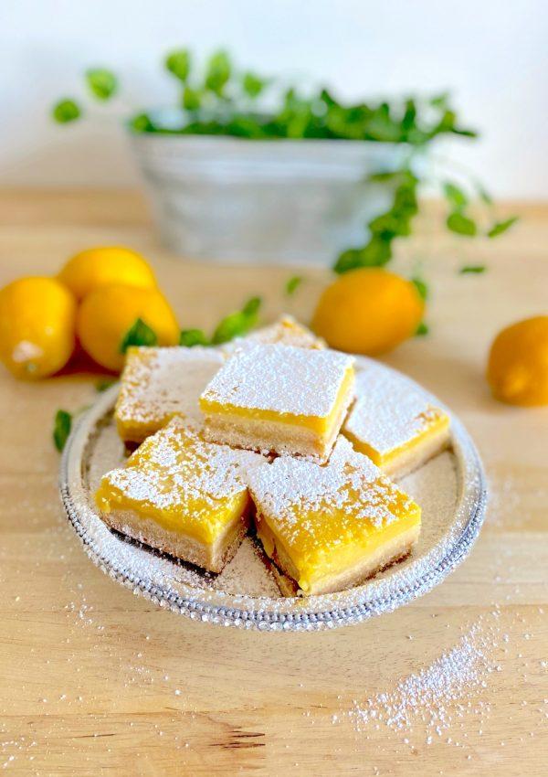 The Best Lemon Bars Recipe (Gluten-Free, Dairy-Free, Nut-Free)