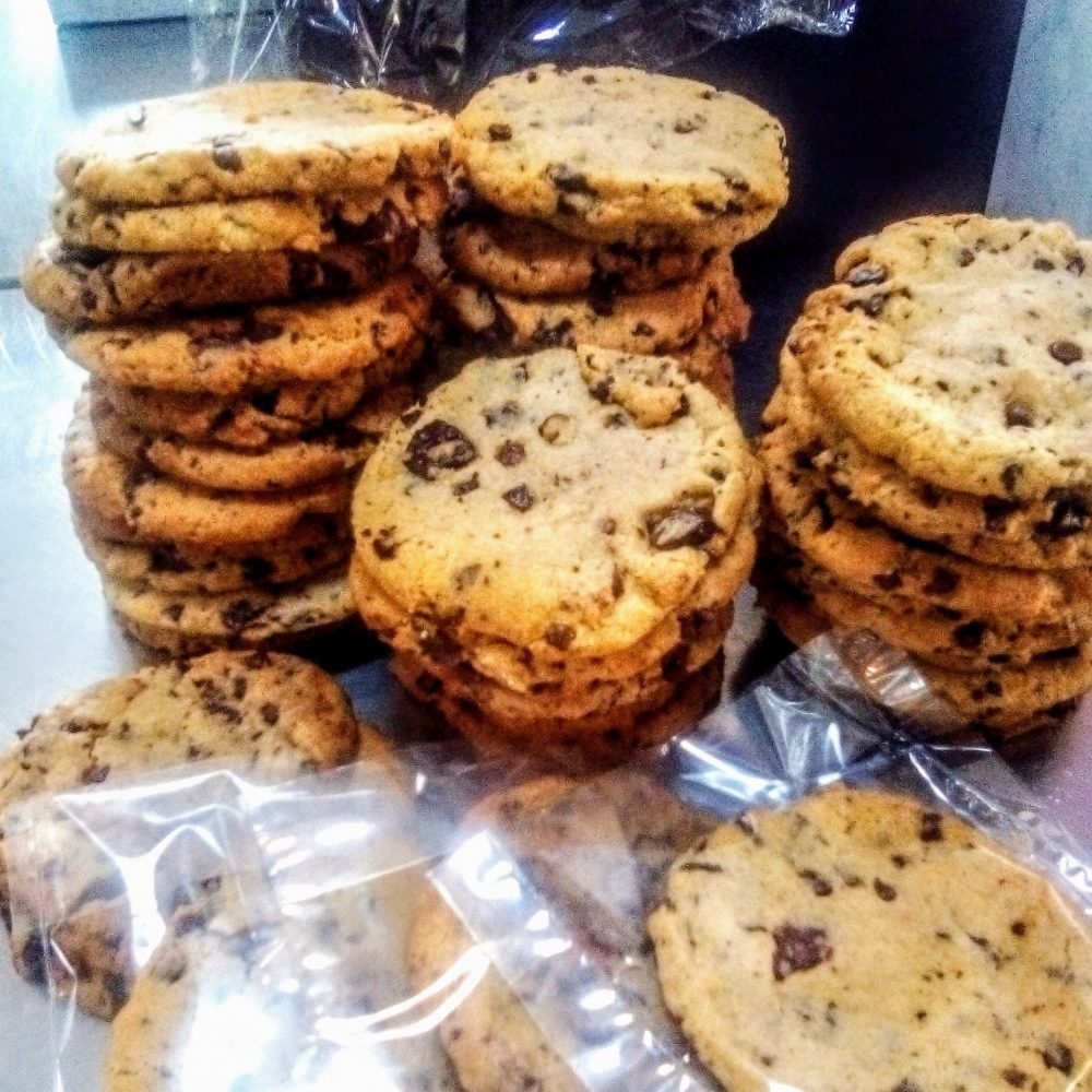 Mother's Day Gift Ideas, Clarke's Cakes and Cookies, Vegan Chocolate Chip Cookies