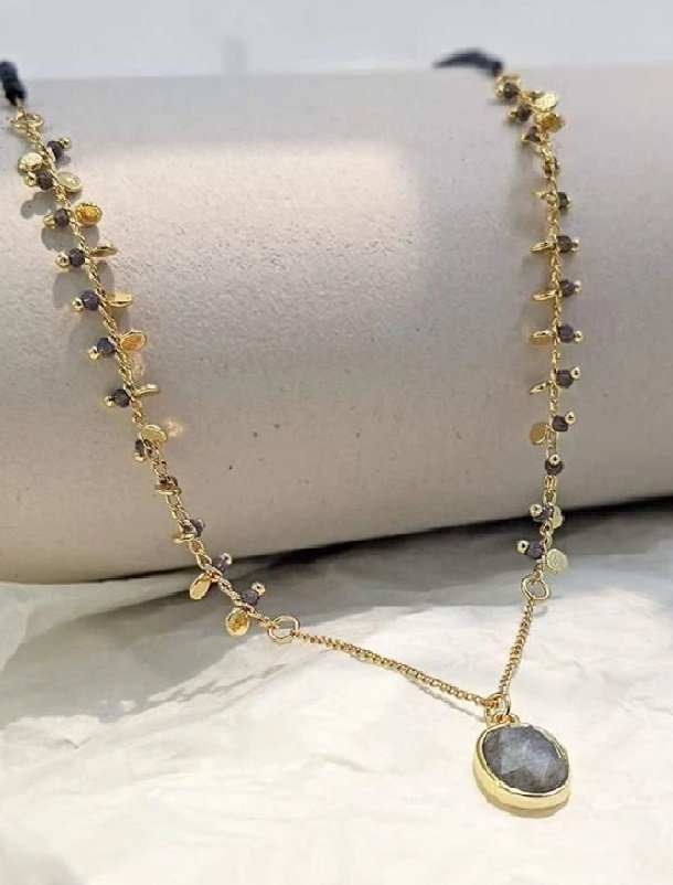 Mother's Day Gift Ideas, Lit Boutique, Labradorite Necklace