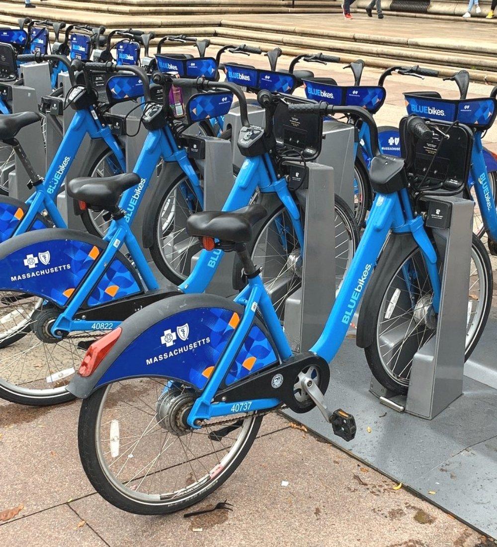 BLUEbikes Boston, MA. Rent bikes to tour Boston, Massachusetts. A Guide to BLUEbike Rentals in Metro Boston