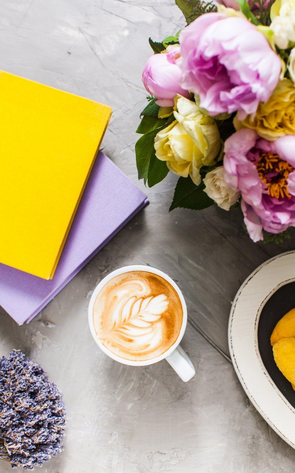 lavender latte, spring in boston ma; spring in boston; spring flowers in boston, ma; spring boston things to do